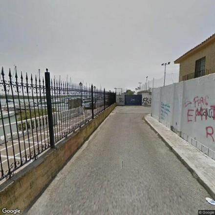 Detrás del club nautico de El Puerto de Santa María