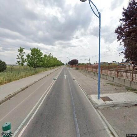 Carretera del cementerio de Getafe