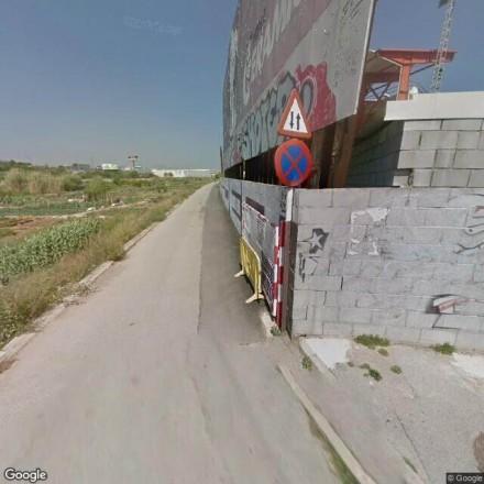 Detrás del campo de futbol municipal de Ripollet