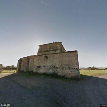 La ermita abandonada en Trujillo